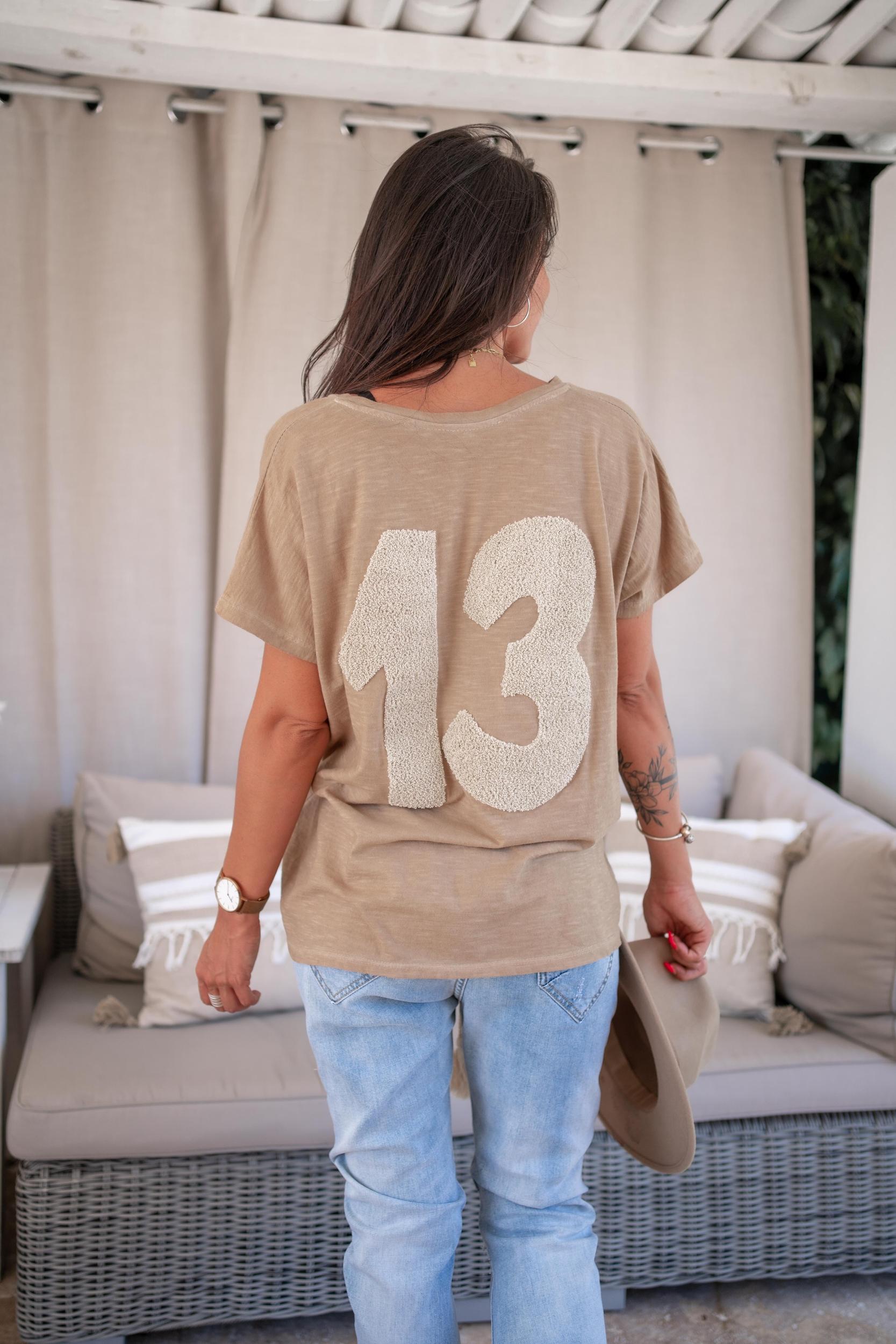T-shirt MARSEILLE mc camel Banditas