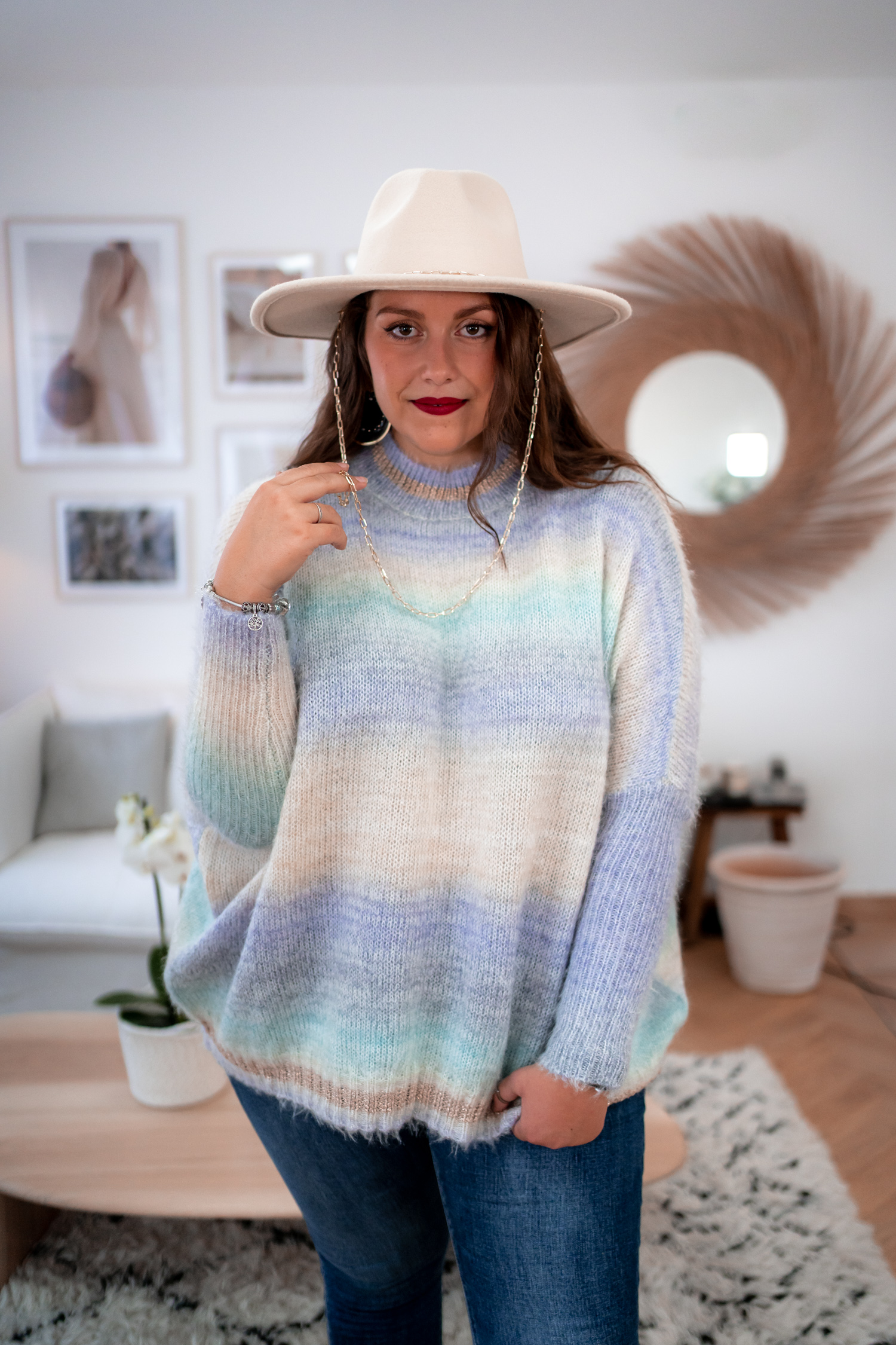 Pull WILLOW parme Wiya