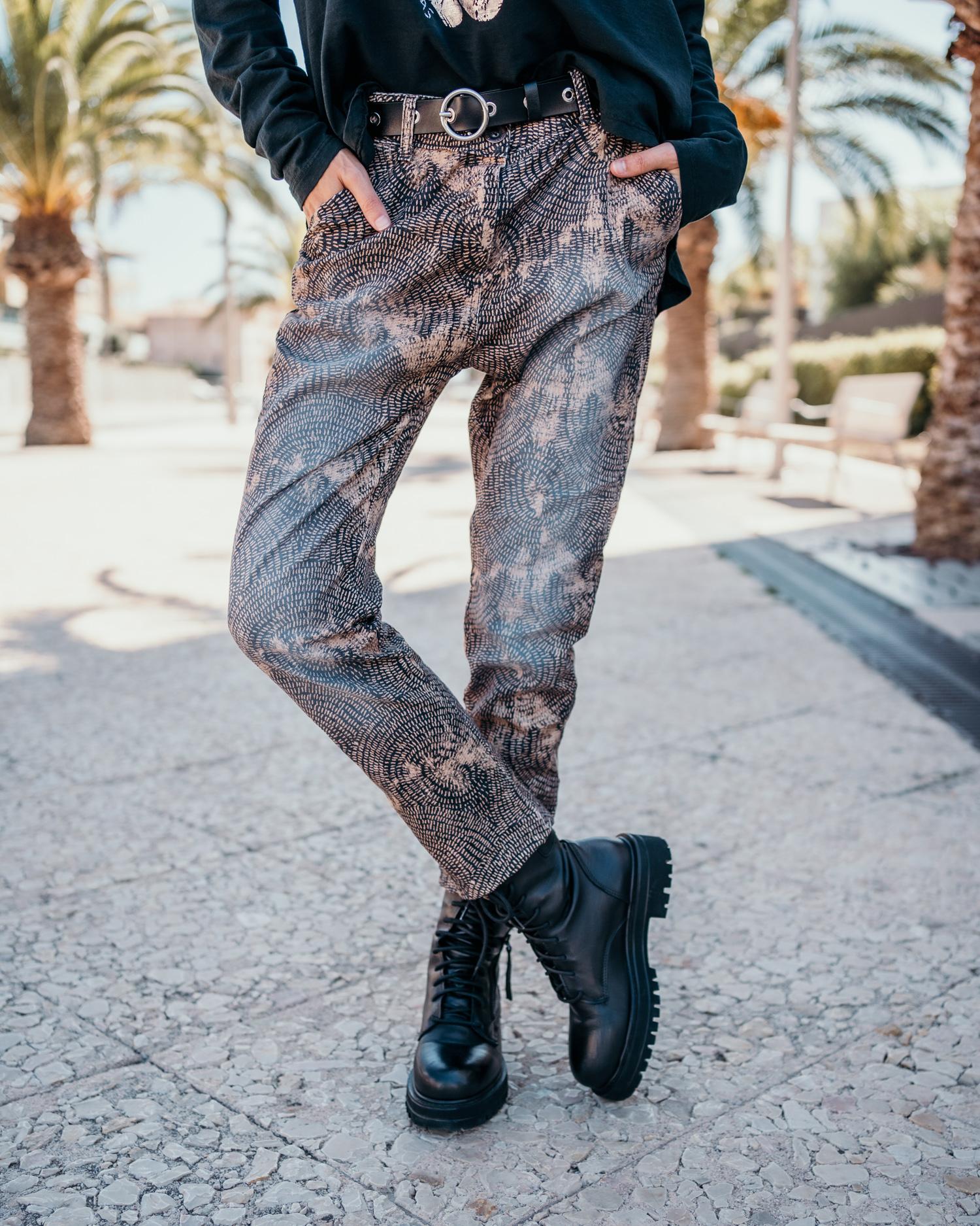 Pantalon DAHO taupe Banditas