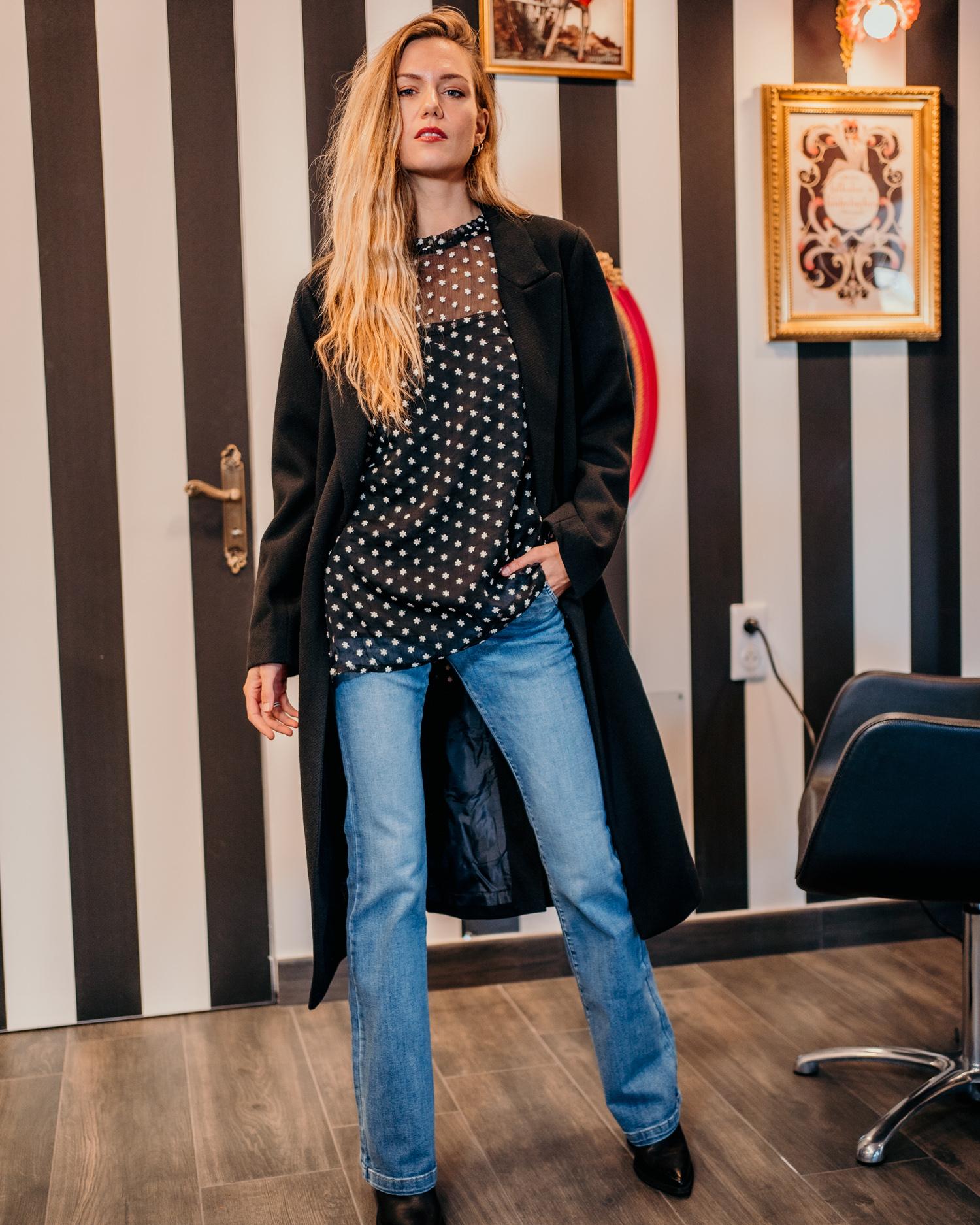 Manteau PRAGUE noir