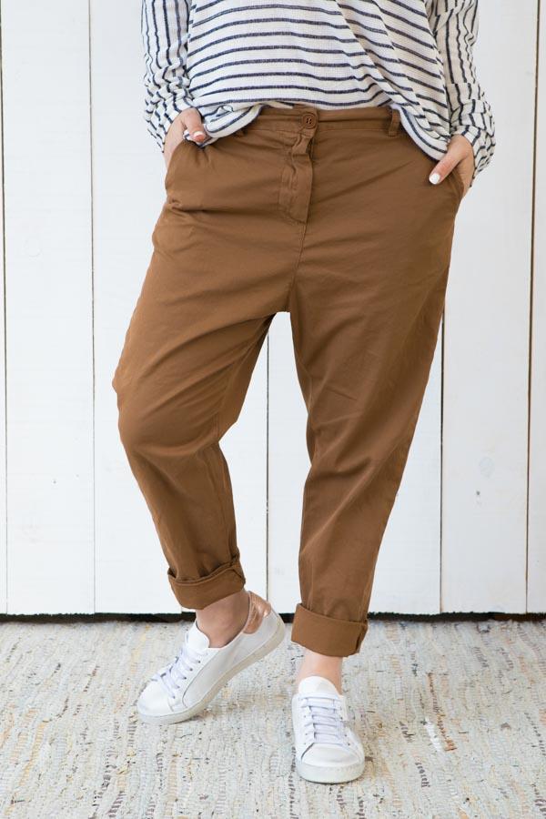 Pantalon MARINA camel