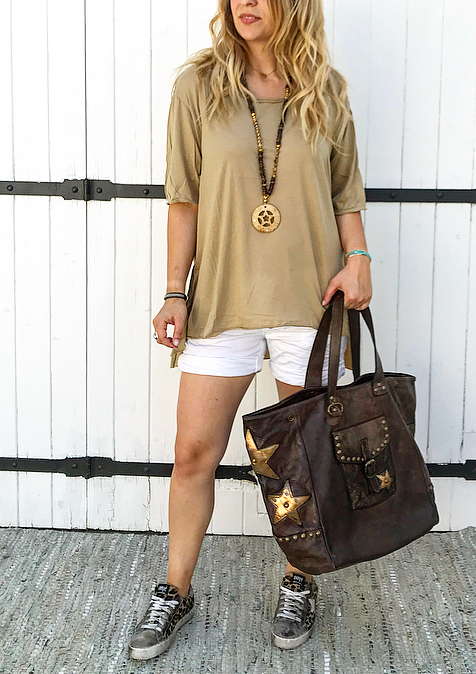 T-shirt MANON camel