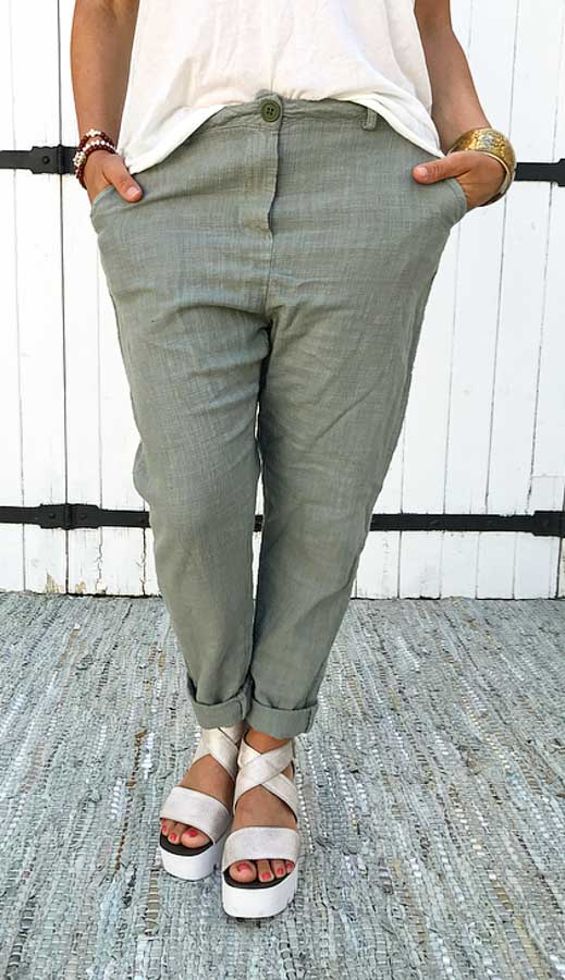 Pantalon RIO kaki