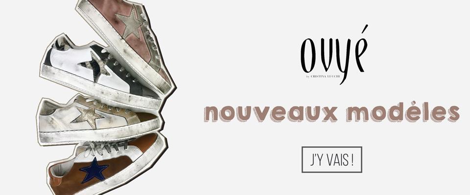 Découvrir baskets Ovyé