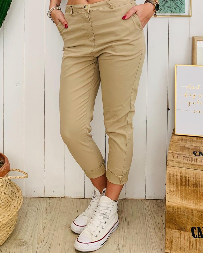 Pantalon ANDREA beige