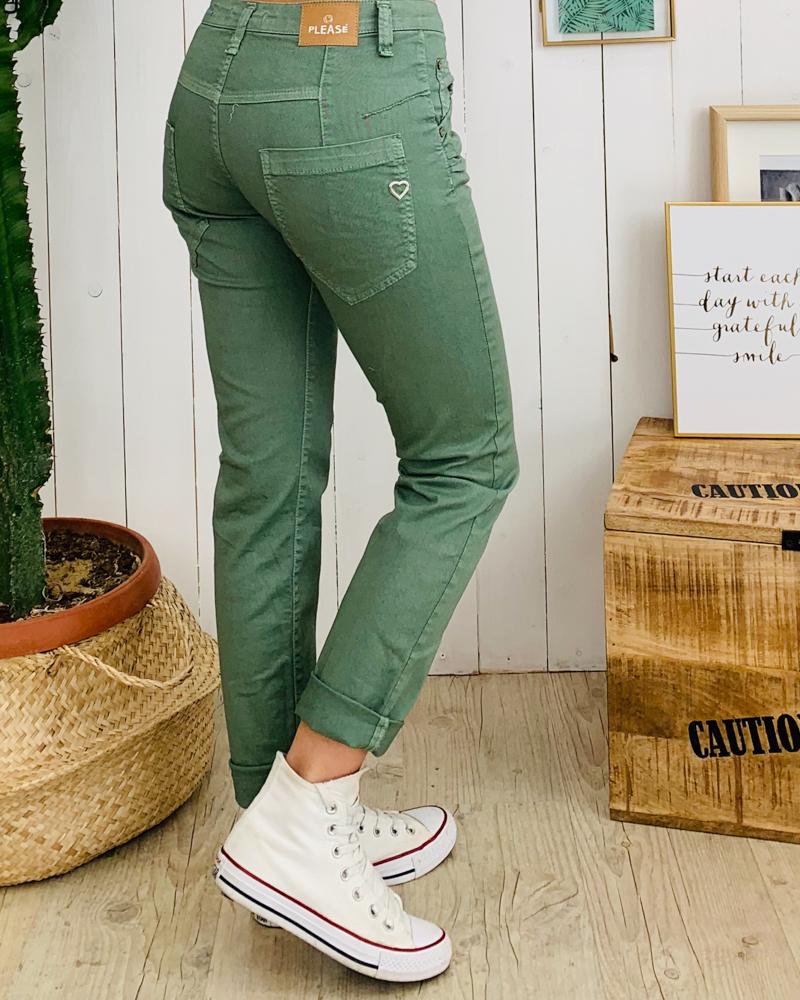Pantalon P85 vert