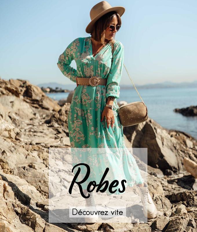 Découvrez nos robes longues, courte des marques Banditas, Chantal B,