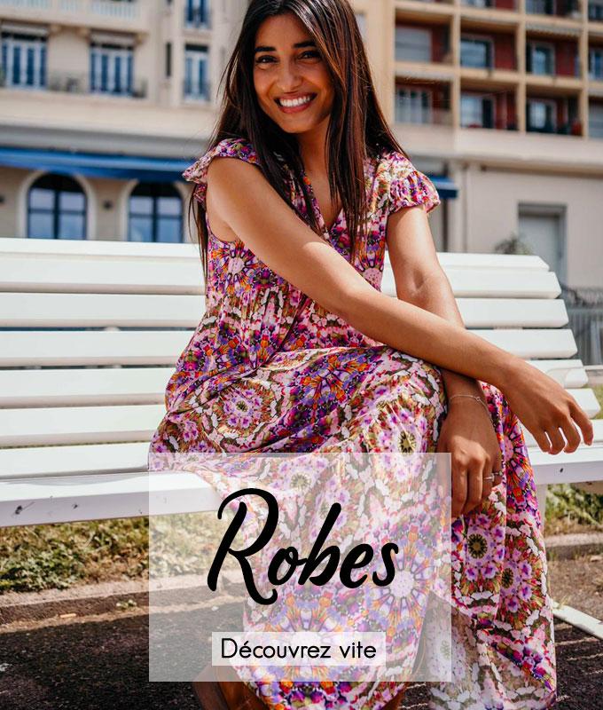 Découvrez nos robes dans les marques Banditas, Chantal B, Wiya