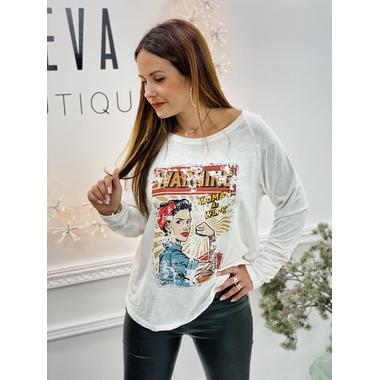 tshirt_woman_work_blanc_banditas