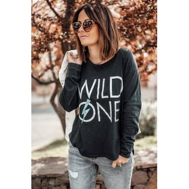 tee_wild one_noir