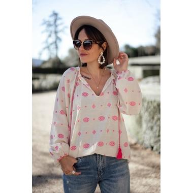 blouse_olvada_beige_fushia_banditassr