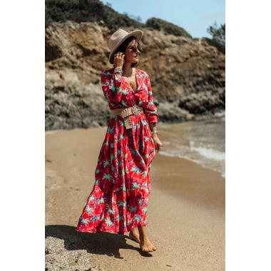 robe_tissia_lg_rouge_turquoise