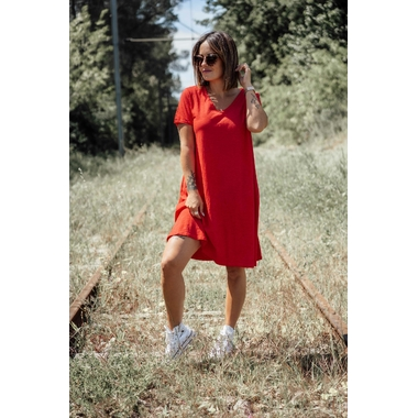robe_courte_andria_rouge