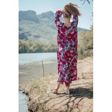 robe_latina_longue_rose_turquoise-10