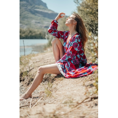 robe_latina_longue_rose_turquoise-14