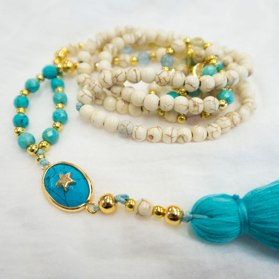 Collier LITTLE STAR Turquoise