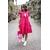 robe_cécile_courte_fuchsia