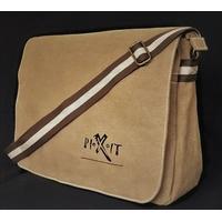 Sac Courrier / Messenger   Pixit à bandoulière -look vintage- Couleur sable