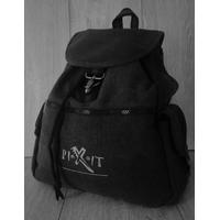 Sac à dos de randonnée vintage PIXIT - Noir