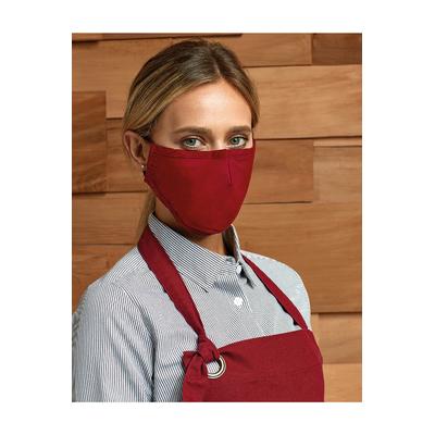 Masque de protection à 3 couches avec tissu doux 100% coton tissé-Masque de cat. 1 selon Norme AFNOR, conforme aux normes GB18401-2010B et au Test Eurofins CH_PCL_1.