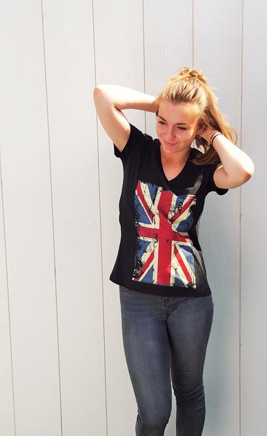 Drapeau Union Jack Femme