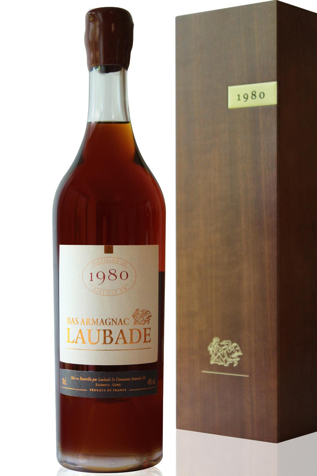 Bas Armagnac Laubade 1980 - 70cl