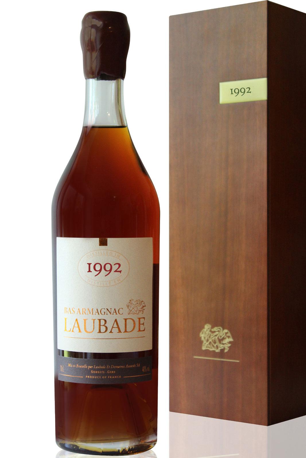 Bas Armagnac Laubade  1992 - 70cl