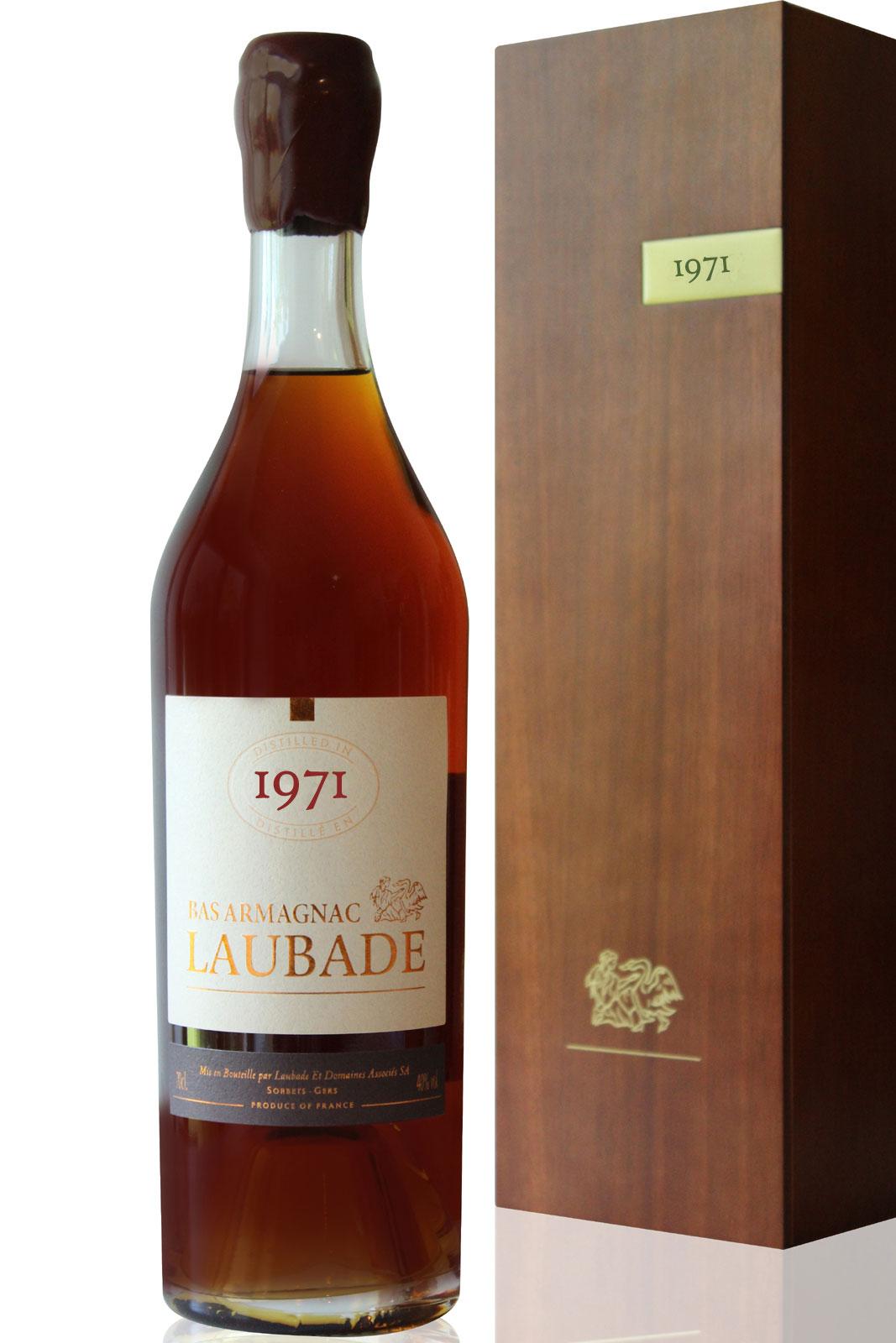Bas Armagnac Laubade 1971  - 70cl
