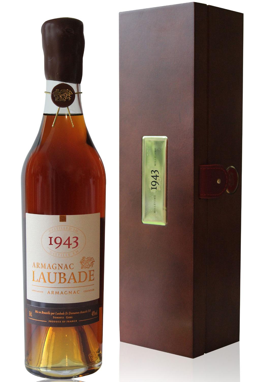 Armagnac  Laubade 1943  50cl