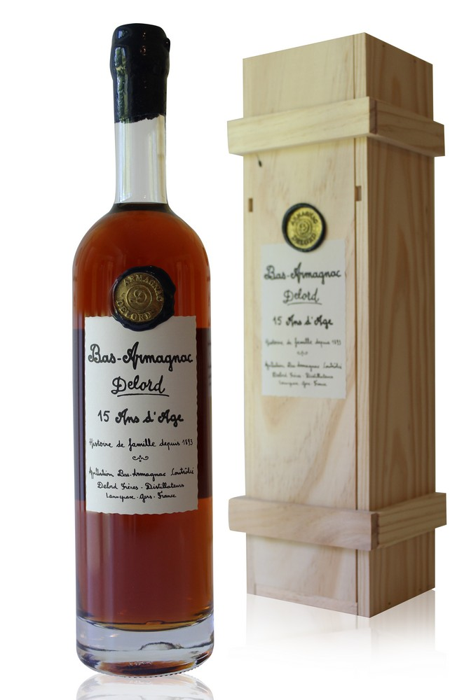 Armagnac  Delord  15 Ans d\'Age  70cl