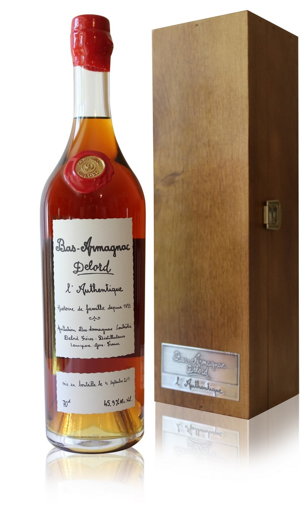 Armagnac Delord  L\'Authentique  70cl