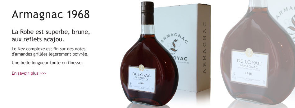 Armagnac Loyac 1968
