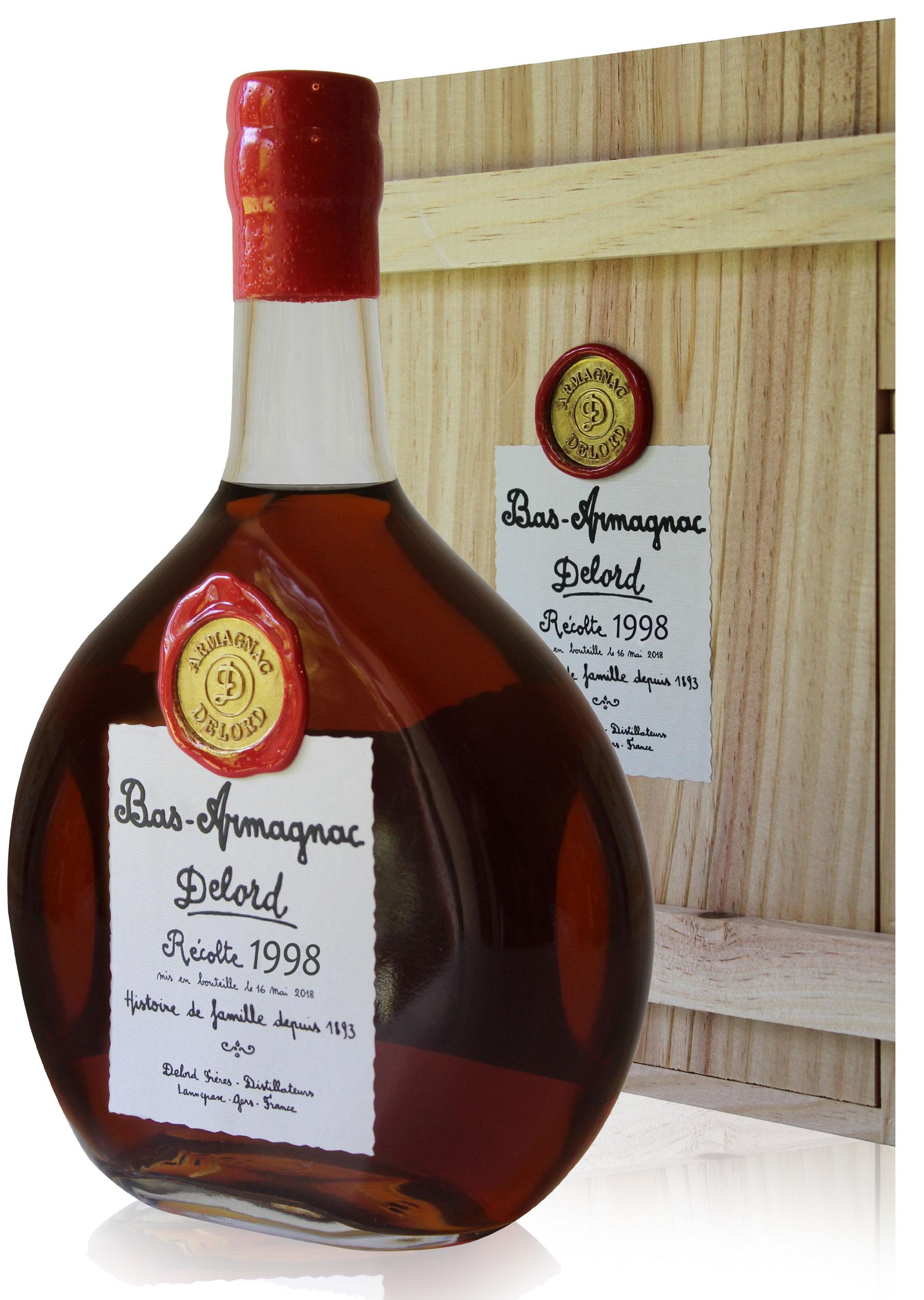 Armagnac  Delord  1998  70cl