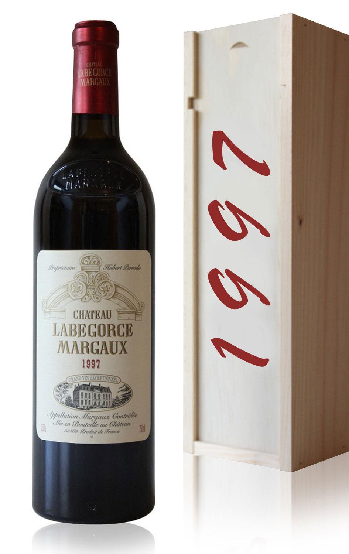 Coffret Château Labegorce 1997 Rouge 75cl AOC Margaux