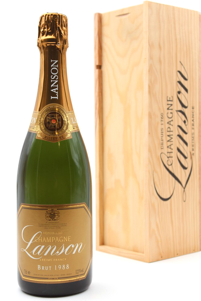 Champagne Lanson Brut 1988 75cl