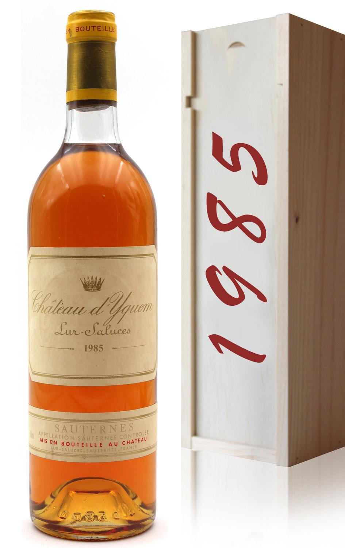 Coffret Château D\' Yquem 1985 Blanc 75cl AOC Sauternes