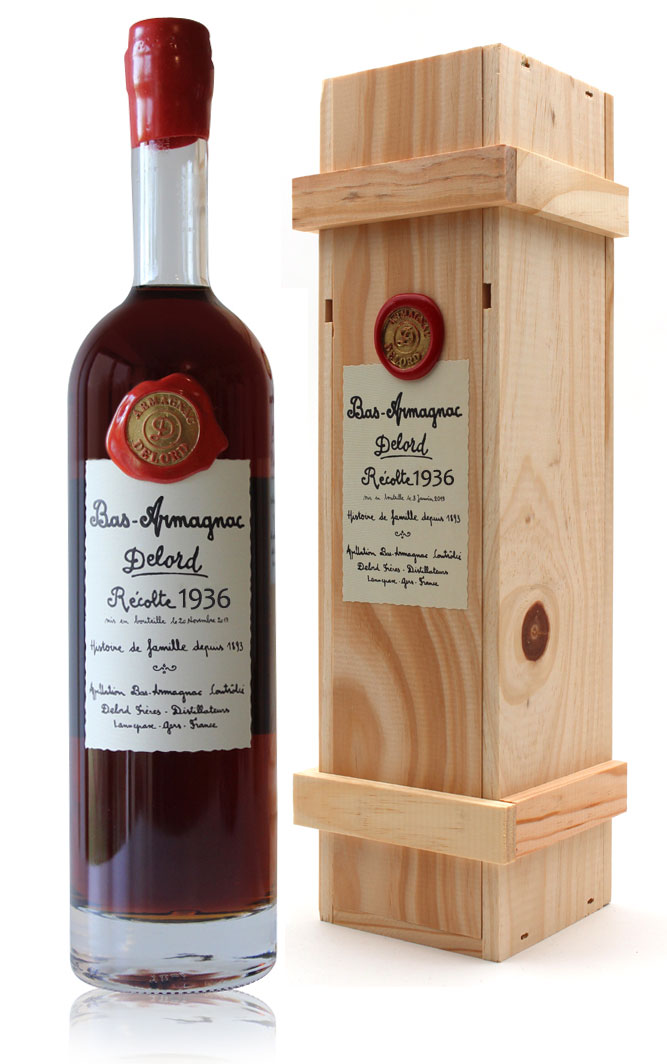 Armagnac  Delord  1936  Ariane  70cl
