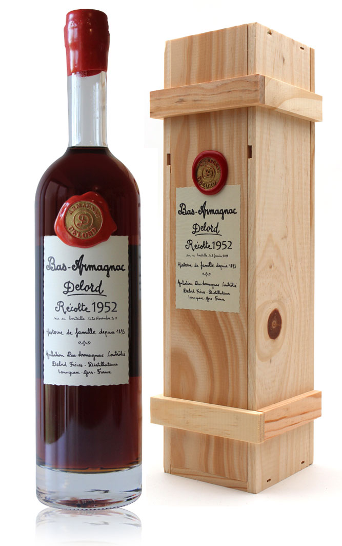 Armagnac  Delord  1952  Ariane  70cl