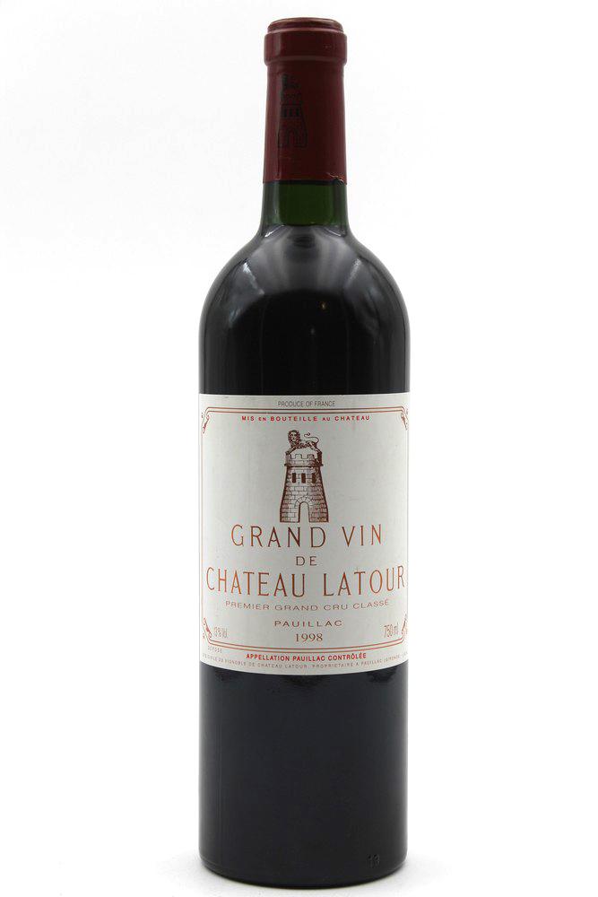 Château Latour 1998 Rouge 75cl AOC Pauillac