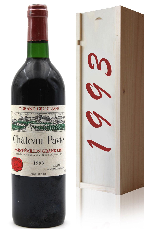 Coffret Château Pavie 1993 Rouge 75cl AOC Saint Émilion
