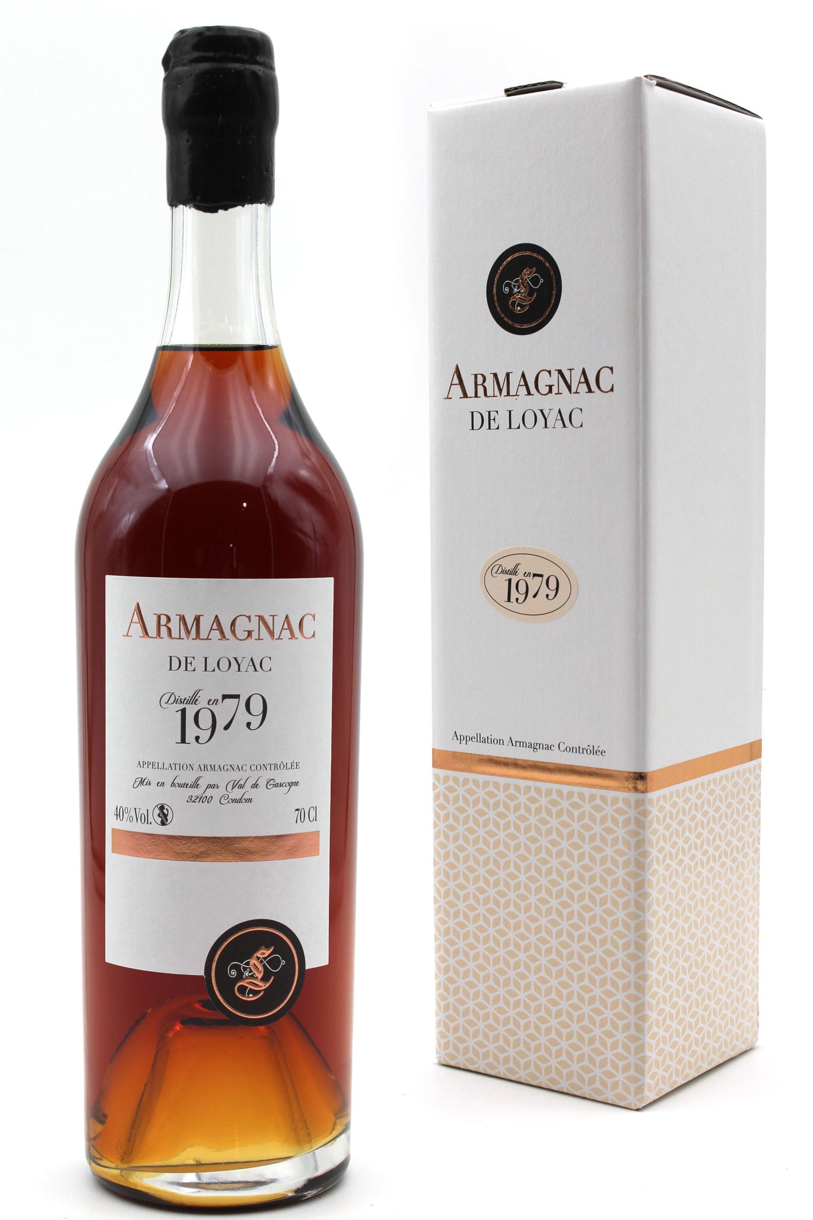 Armagnac De Loyac 1979 - Ariane - 70 CL