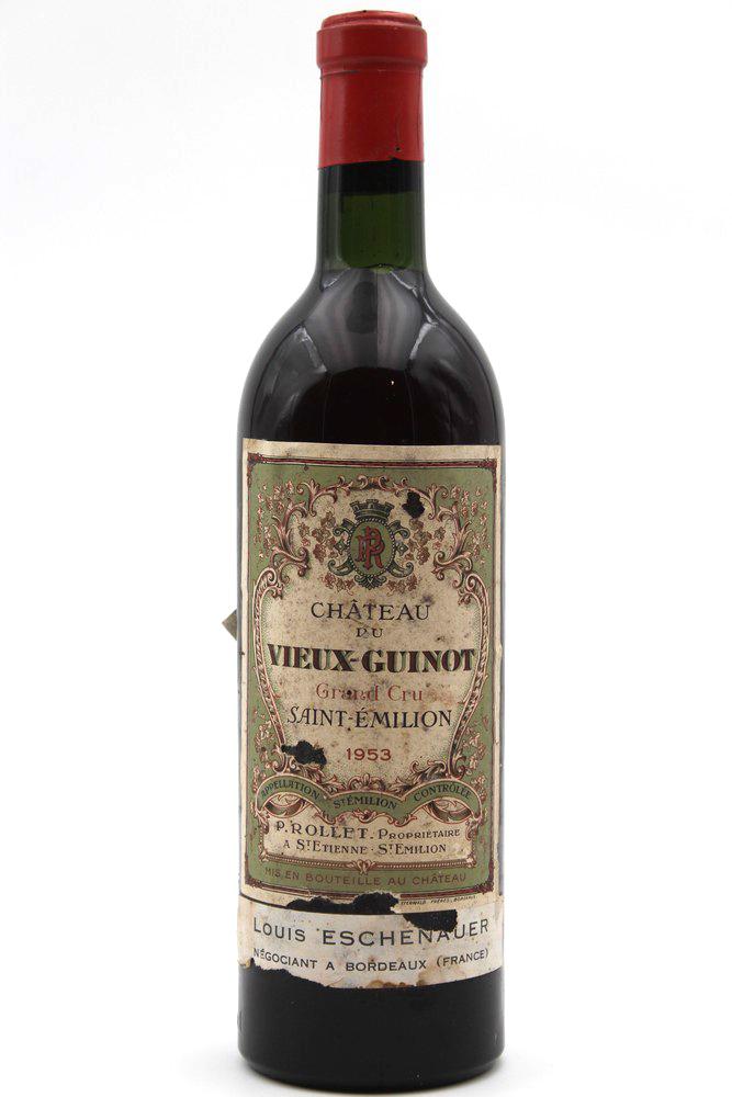 Château Vieux Guinot 1953 Vin Rouge 75cl AOC Saint-Émilion
