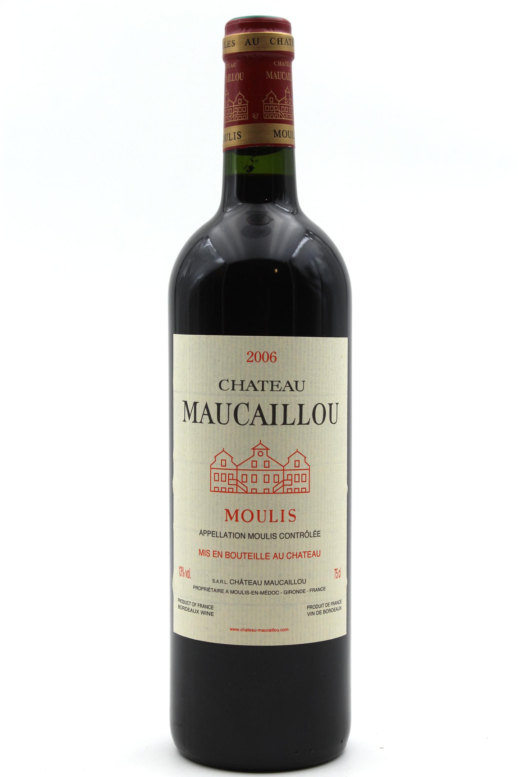 Château Maucaillou 2006 Vin Rouge 75cl AOC Moulis