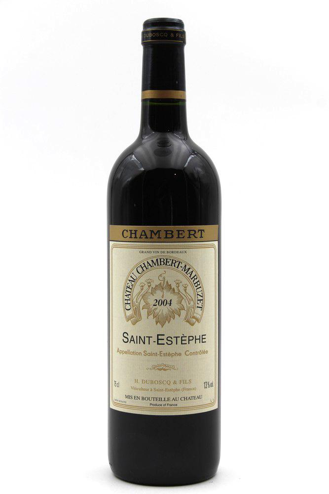 Château Chambert-Marbuzet 2004 Vin Rouge 75cl AOC Saint-Estephe