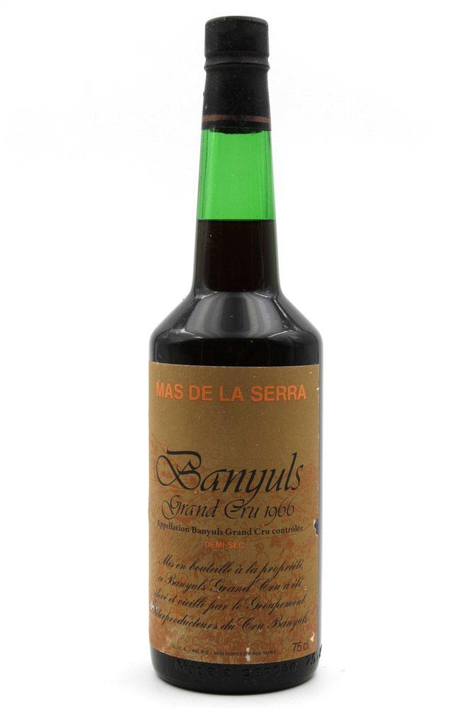 Banyuls Grand Cru 1966 Mas de la Serra Demi sec 75cl