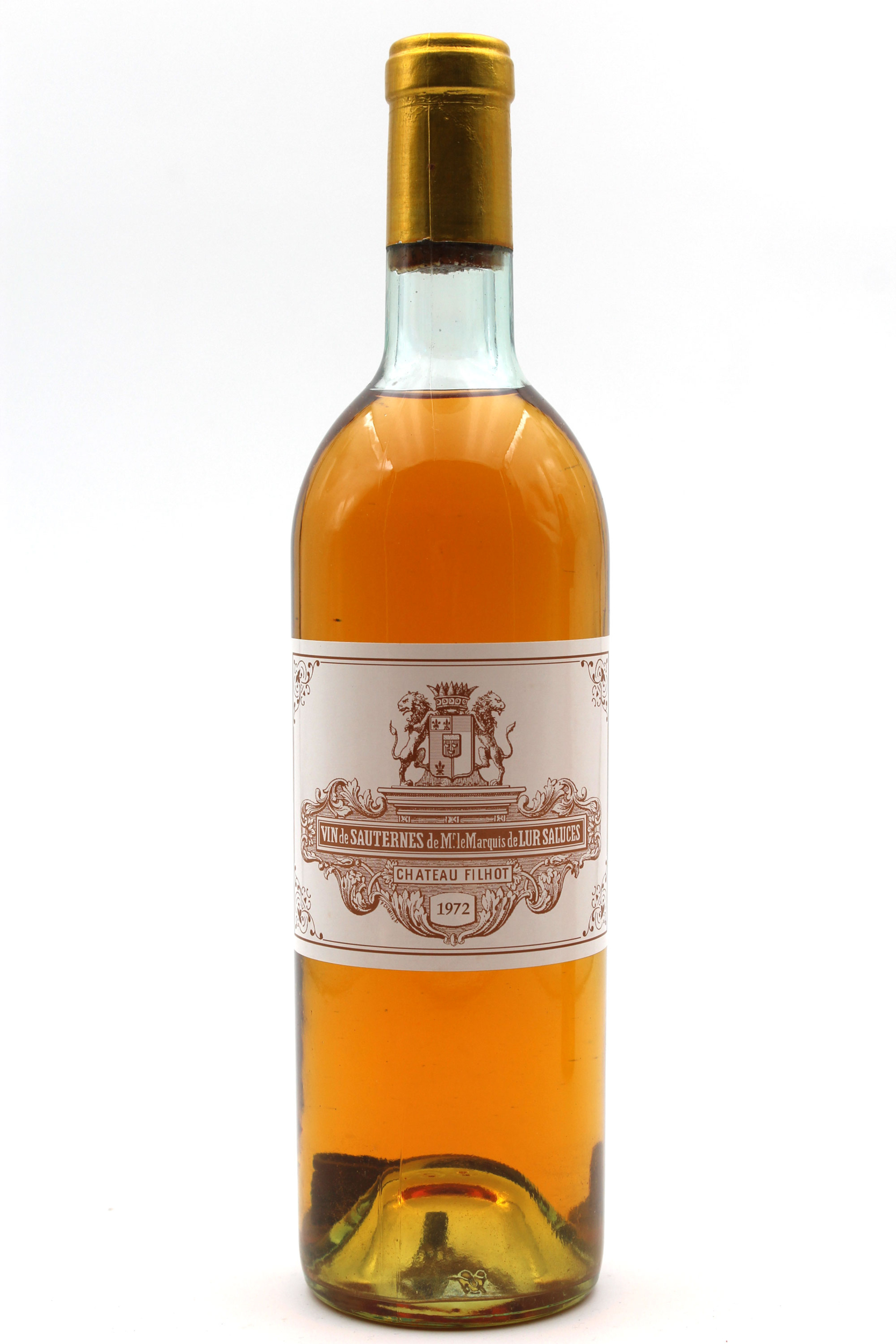 Château Filhot 1972 Blanc 75cl AOC Sauternes