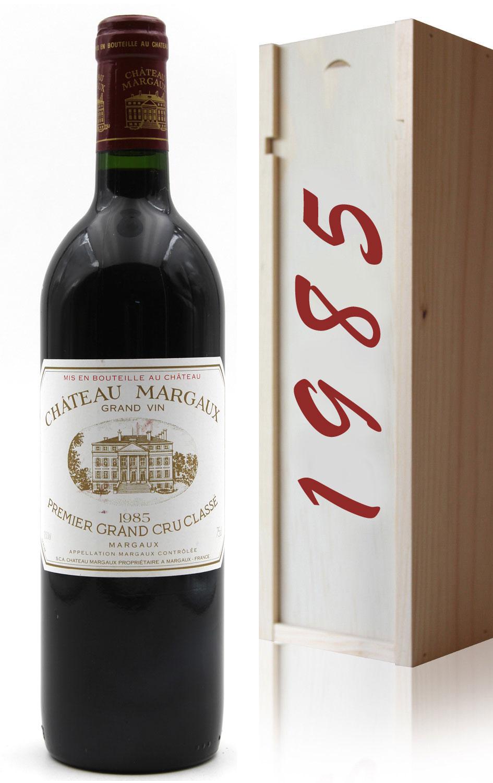 Coffret Château Margaux 1985 Rouge 75cl AOC Margaux