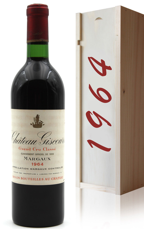 Coffret Château Giscours 1964 Rouge 75cl AOC Margaux