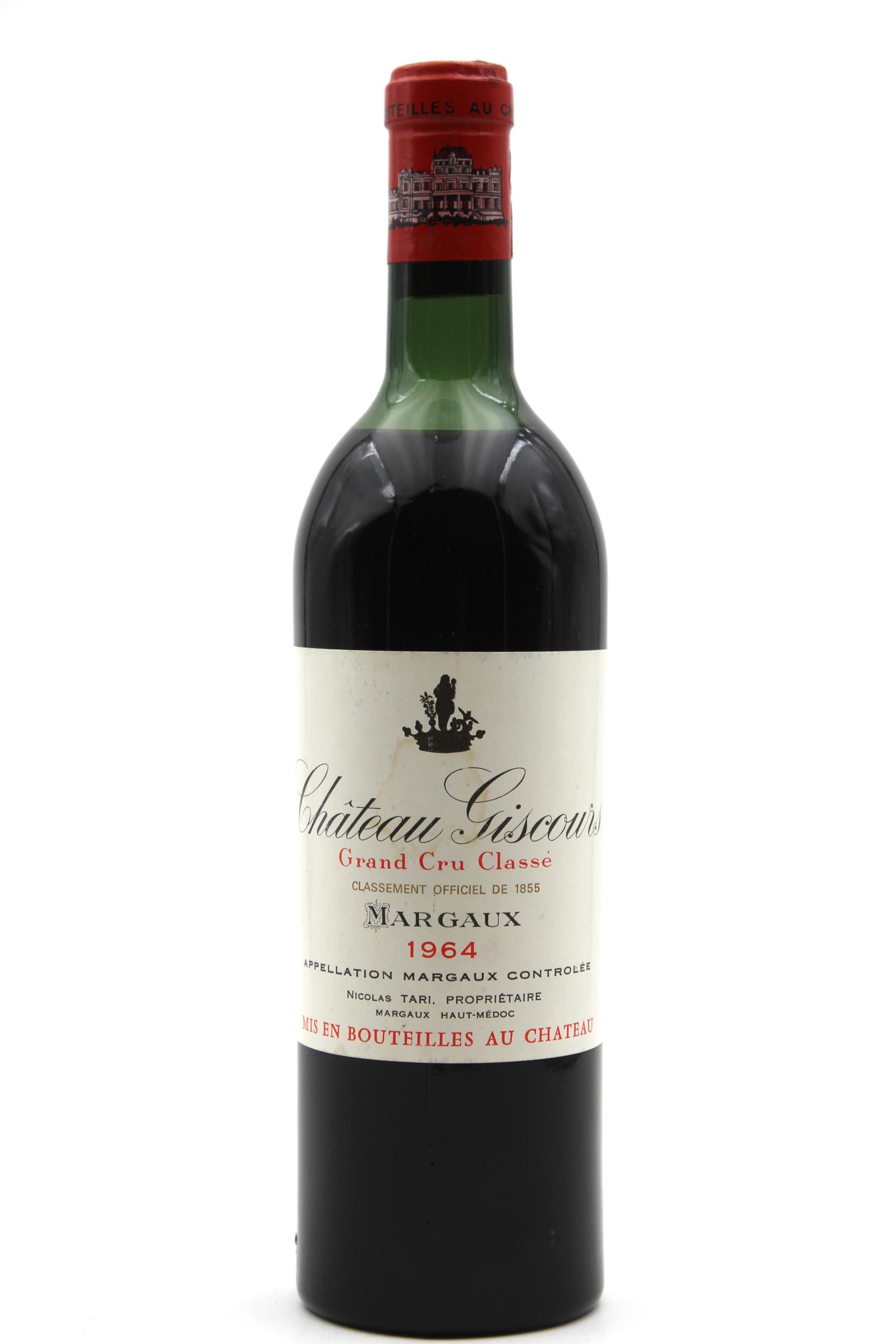 Château Giscours 1964 Rouge 75cl AOC Margaux