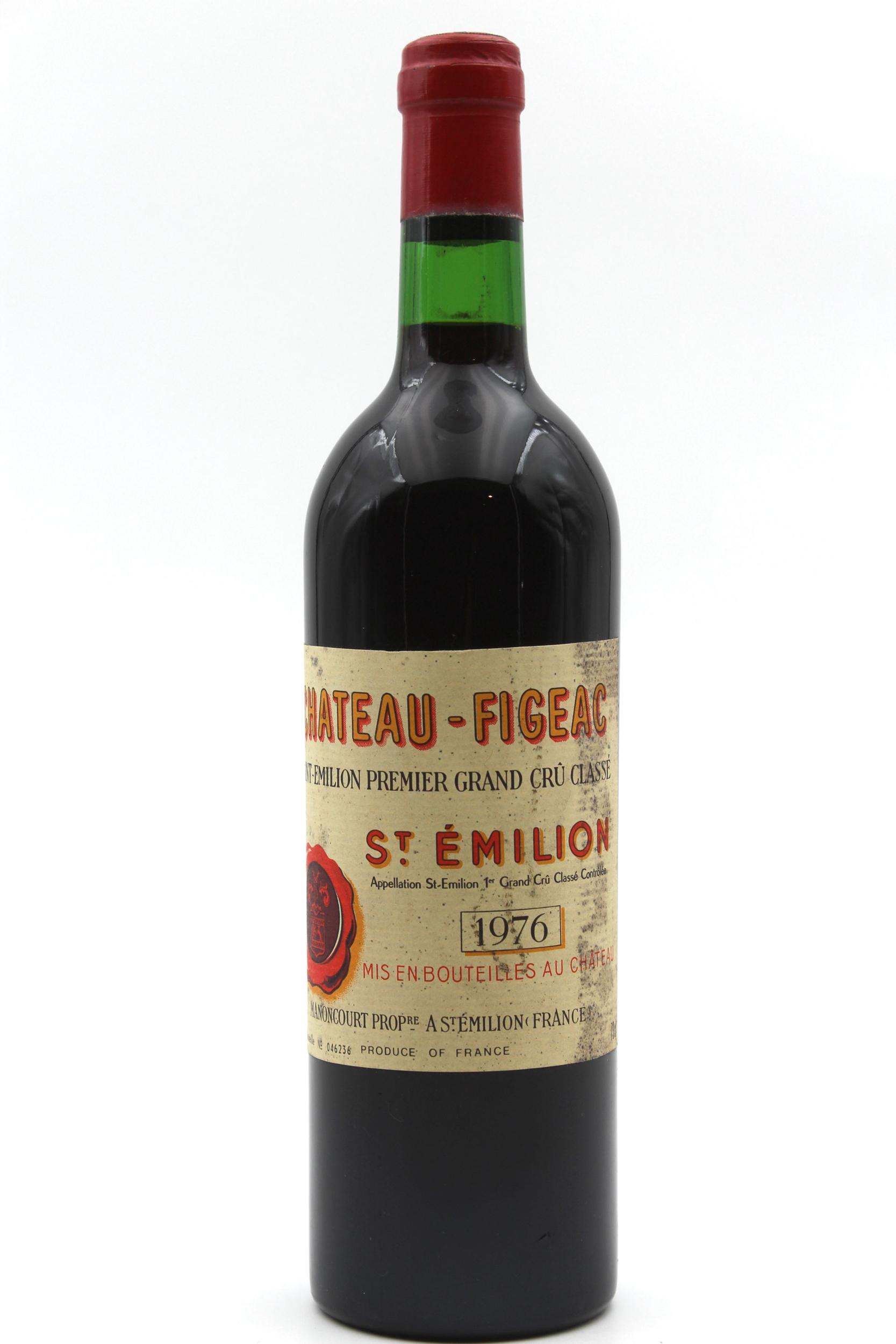 Château Figeac 1976 Vin Rouge 75cl AOC Saint Émilion